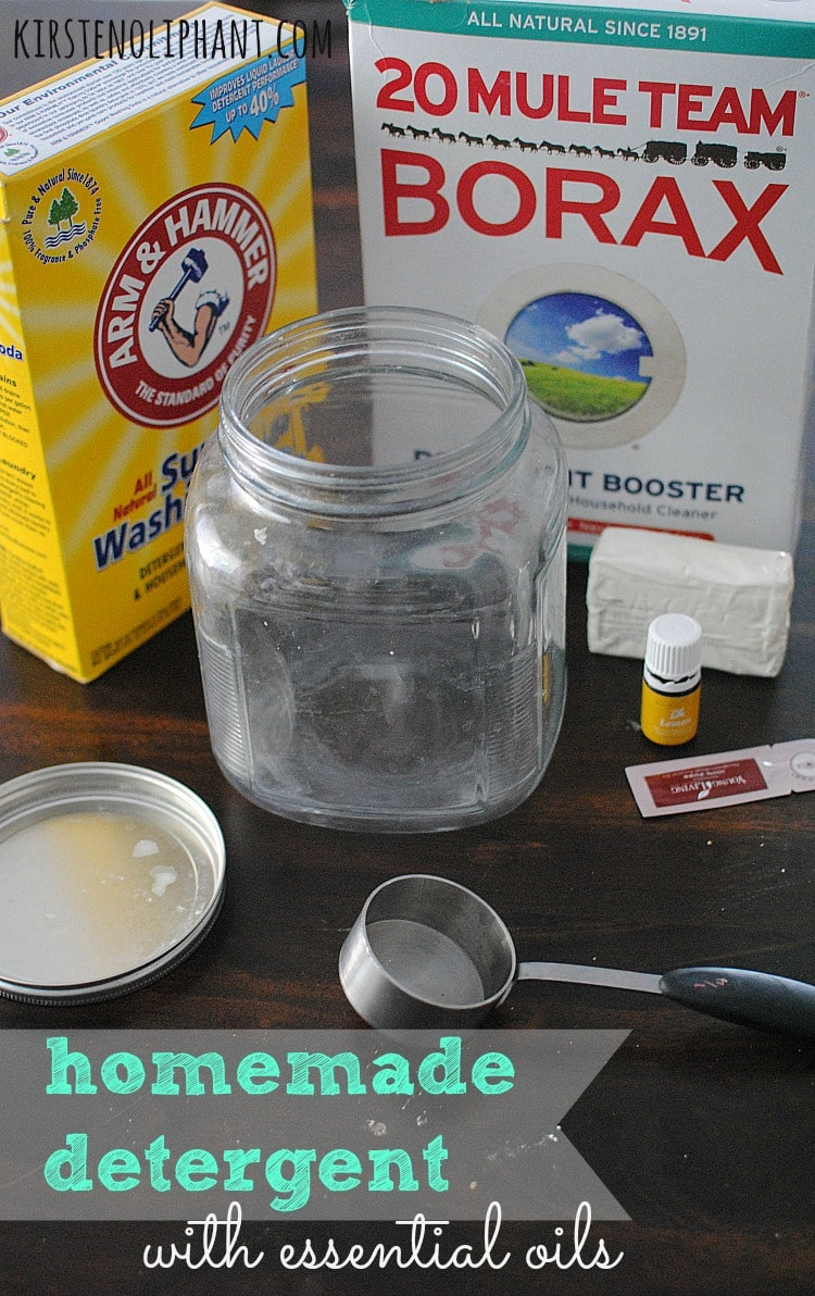 Homemade Detergent With Essential Oils Kirsten Oliphant